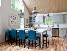 kitchen with island ideas kitchen island ideas designs pictures hgtv
