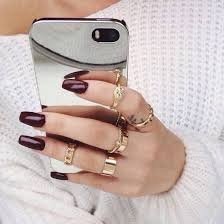 gold knuckle rings images Jewels ring knuckle ring nail polish sweater nail accessories jpg