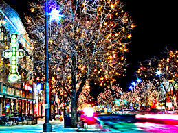 fort collins christmas lights fort collins colorado downtown lights at night fort collin flickr
