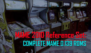 Arcade Meme - mame 2010 reference set complete mame 0 139 non merged roms chds