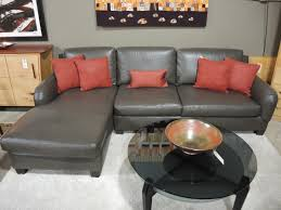 Sectional Table Decor Deluxe And Contemporary Benjamin Thomasville Leather Sofa