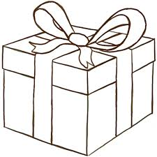 gift box bows how to draw a wrapped gift or present with ribbon and bow how to