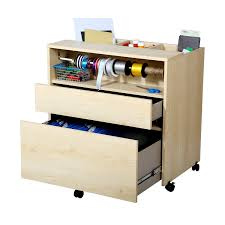 Rolling Storage Cabinet South Shore Crea Craft Storage Cabinet On Wheels