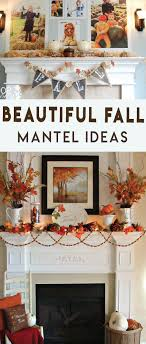 how to decorate your thanksgiving mantel design diy ideas