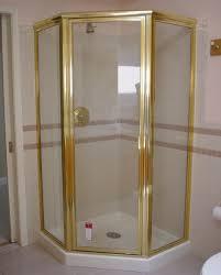 Gold Shower Doors Framed Semi Frameless Shower Door King Shower Door Installations