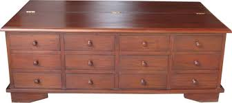 mahogany coffee table with drawers clearance 12 drawer mahogany coffee table lock stock barrel