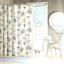 Organic Cotton Curtains Organic Cotton Shower Curtain Made In Usa Hookless Fabric Shower