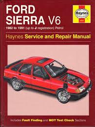 100 ford sierra service and repair manual 100 shop manual