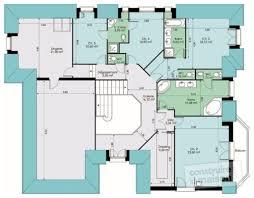 plan maison etage 4 chambres 1 bureau plan maison etage 4 chambres 1 bureau villa de m avec