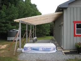 How To Pole Building Construction by My Diy Barn Lean To Built With Small Office Space Youtube