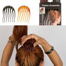 bun holder 2016 fashion women hair styling clip fluffy stick bun maker braid