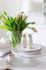 easter egg decorating idea mini floral bunny ears a burst of