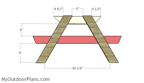 Plans To Build A Picnic Table by Sandbox Picnic Table Plans Myoutdoorplans Free Woodworking