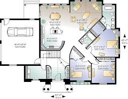 Breeze House Floor Plan Gulf Breeze 4667 3 Bedrooms And 2 5 Baths The House Designers