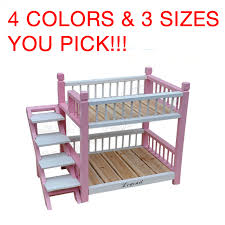 Doggie Bunk Beds Bed Frames Bunk Beds Custom Mattress Solid Wood Loft Bed Fan