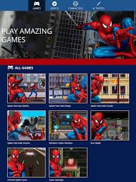 the brick castle marvel kids spiderman online free games review