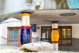 chambre d hote vienne autriche colonnes de chambre de hundertwasser vienne autriche photo