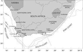 South Africa On Map by South Africa