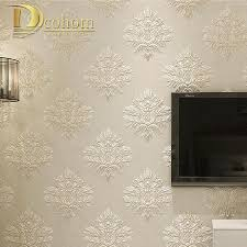 Purple Damask Wallpaper by Online Get Cheap Grey Damask Wallpaper Aliexpress Com Alibaba Group