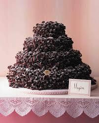 12 chocolate wedding cakes that we u0027re sweet on martha stewart