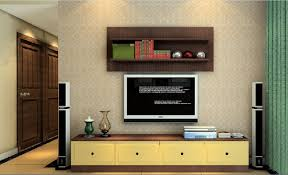 Tv Wall Cabinet 3d Tv Wall Cabinet And Speakers 3d House