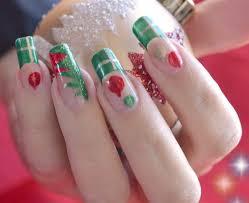 nail art easy christmas nails freehand youtube maxresdefault