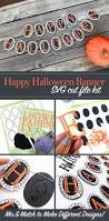 diy happy halloween banner svg kit 100 directions