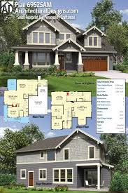 Narrow Lot Craftsman House Plans 104 Best Craftsman House Plans Images On Pinterest Craftsman
