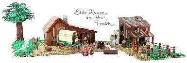 little house lego ideas plum creek the little house on the prairie