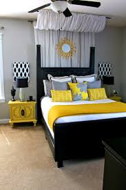 apartments charming ideas about yellow and gray bedding bedroom