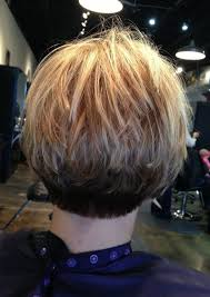 diy cutting a stacked haircut stacked bob fine hair inverted stacked bob hair cut pinterest