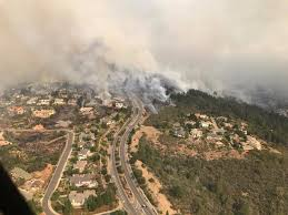 California Wildfires Yahoo by Santa Rosa Fire Diablo Winds Caused Wildfires To Spread Quickly