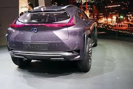 lexus ux update lexus ux concept to spawn production model vehicle autoguide