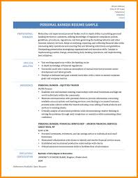 Banker Resume 7 Sample Resume For Banking Azzurra Castle Grenada