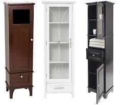 Linen Tower Cabinets Bathroom - elegant bathroom tower cabinet vanity w 2 tower cabinets