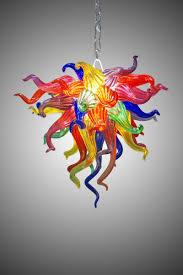 Glass Blown Chandeliers by Custom Hand Blown Glass Chandelier 113 By Seth Parks Glass