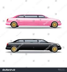 pink and black cars luxury limousine car celebrities government politicians stock