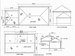 residential blueprints gable roof blueprints u0026 roof framing sc 1 st pinterest