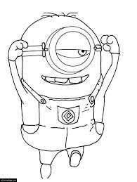 despicable 2 minions coloring pages printable kids