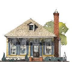 Shotgun House Plans Designs Creekside Neighborhood U2014 Shotgun Homes And Cottage Homes In Rouzan