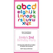 kids birthday party invitations in australia