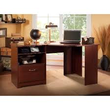 Bush L Shaped Desk With Hutch Brilliant Bush Cabot L Shaped Desk Regarding Furniture Corner