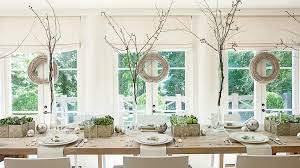 christmas dining room table decorations christmas in the dining room southern living