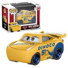 cars characters yellow cars 3 cruz ramirez pop vinyl figure