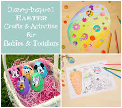 disney easter crafts and activities for babies and toddlers