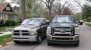 dodge vs ram ford vs dodge vs chevy truck comparison