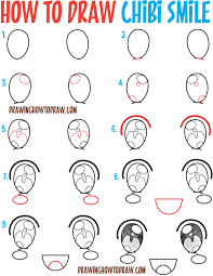 how to draw thanksgiving how to draw happy smiling laughing chibi expressions and