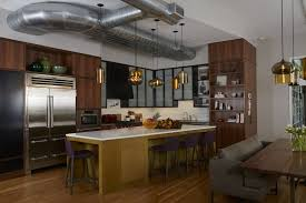 Dining Room Pendant Lighting Glass Pendant Lights Create Gorgeous Display In Greenwich Duplex
