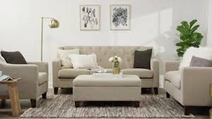 living room ls target felton tufted loveseat threshold target