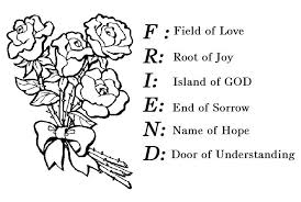 friend meaning coloring pages greeting card 513425 coloring